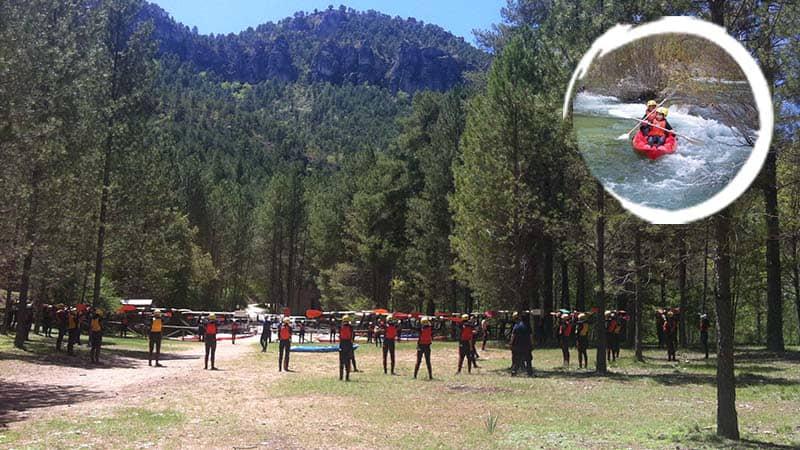 Adventure camp Alto Tajo