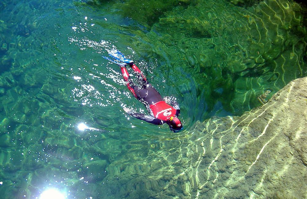 Snorkel en el Alto Tajo