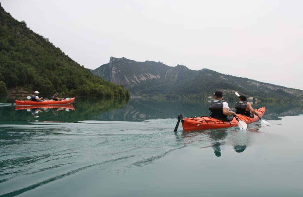 Travesia en kayak por Pirineos