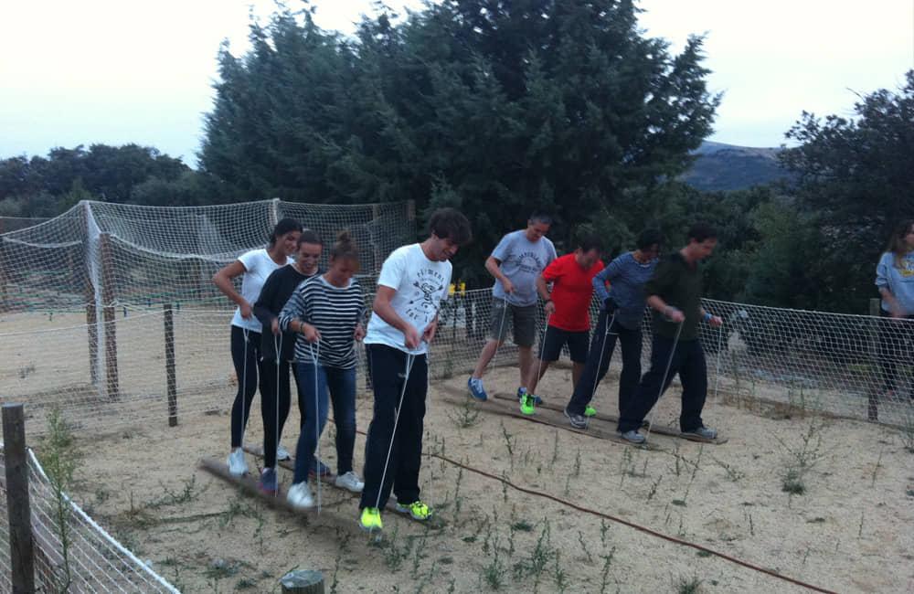 Juegos cooperativos y tradicionales en Madrid