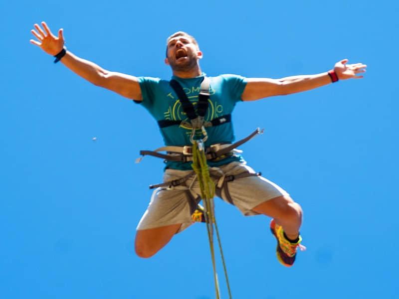 Puenting Madrid Asdon Aventura salto