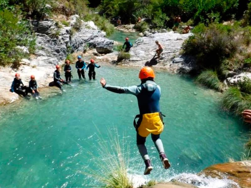 Barranco del rio verde clasico