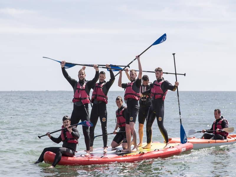 Big paddle surf en San Juan