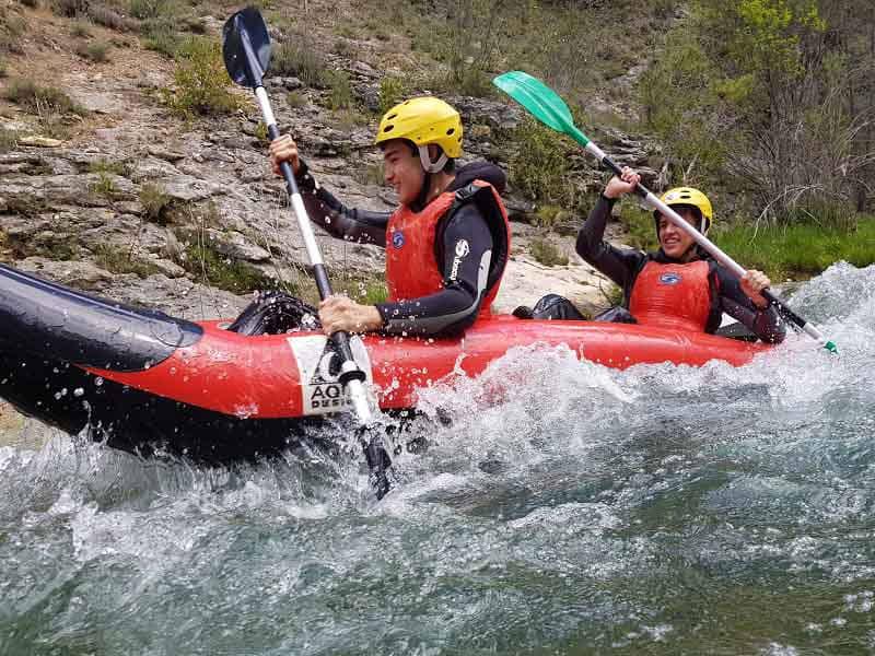 Canoa Rafting  Alto Tajo Nivel II