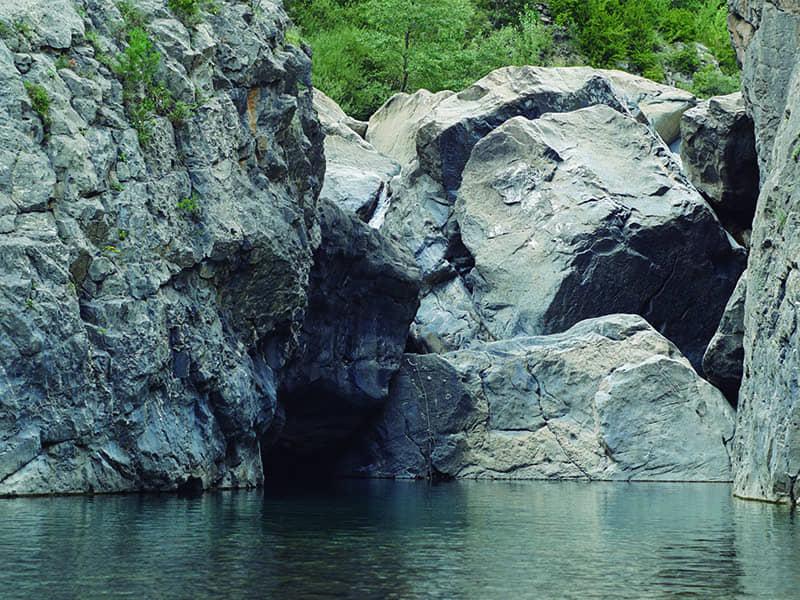 Circuito multiaventura natural en Pirineos
