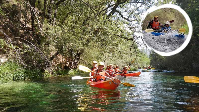 Canoas en el Alto Tajo - Nivel I