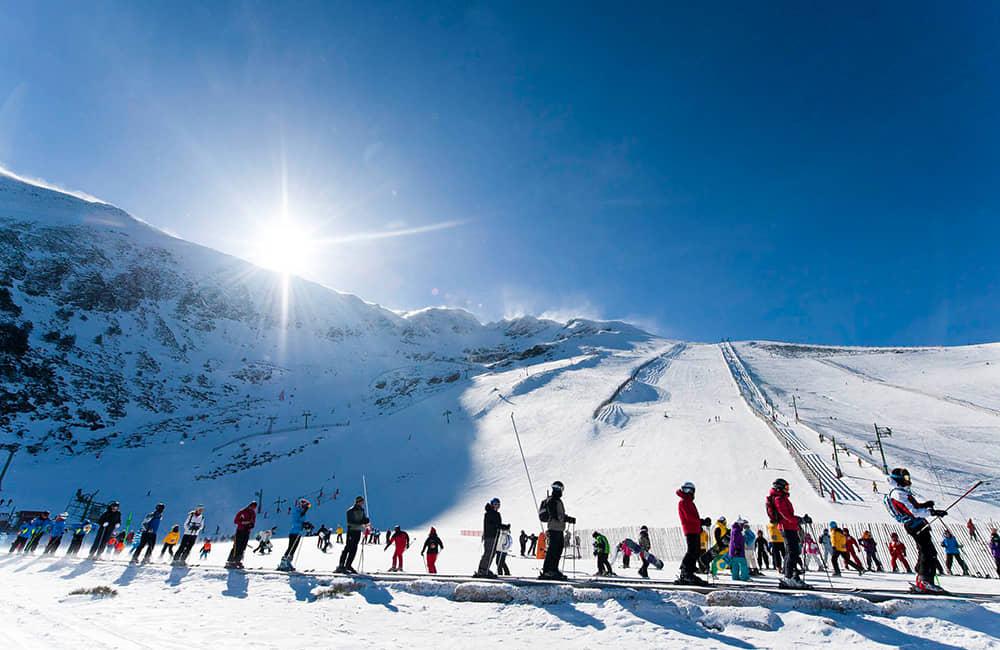 Esqui en la Pinilla