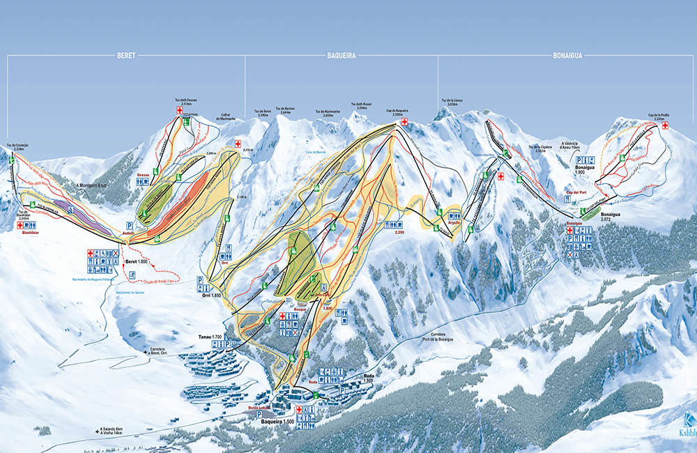 Esqui en Baqueira Beret
