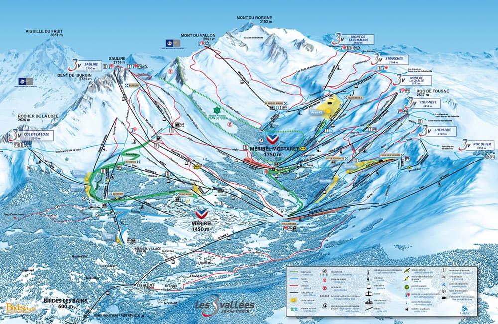 Esqui en Meribel