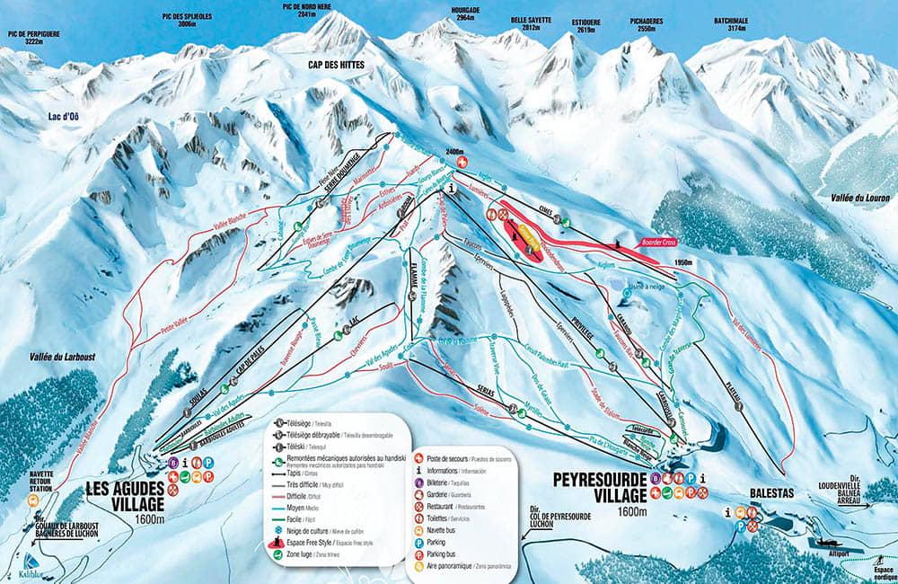 Esqui en Peyragudes