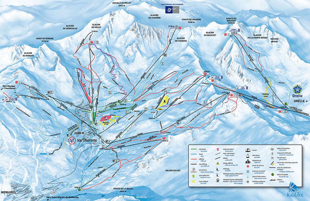 Esqui en Val Thorens