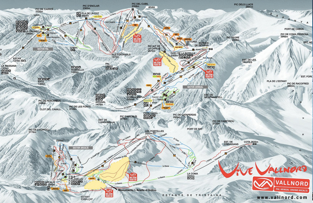 Esqui en Vallnord