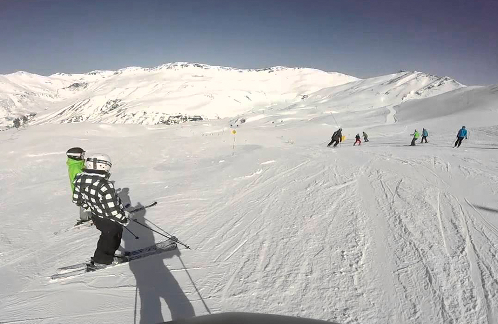 Esqui en Astún