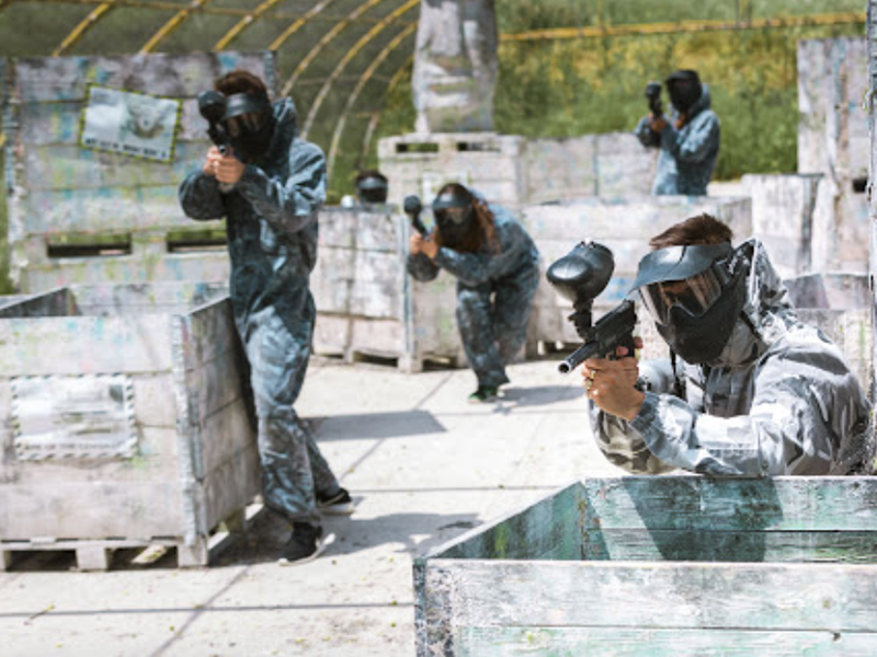 Paintball en Villalba - El Escorial