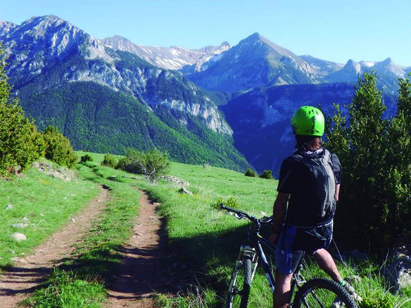 Rutas en BTT por Pirineos