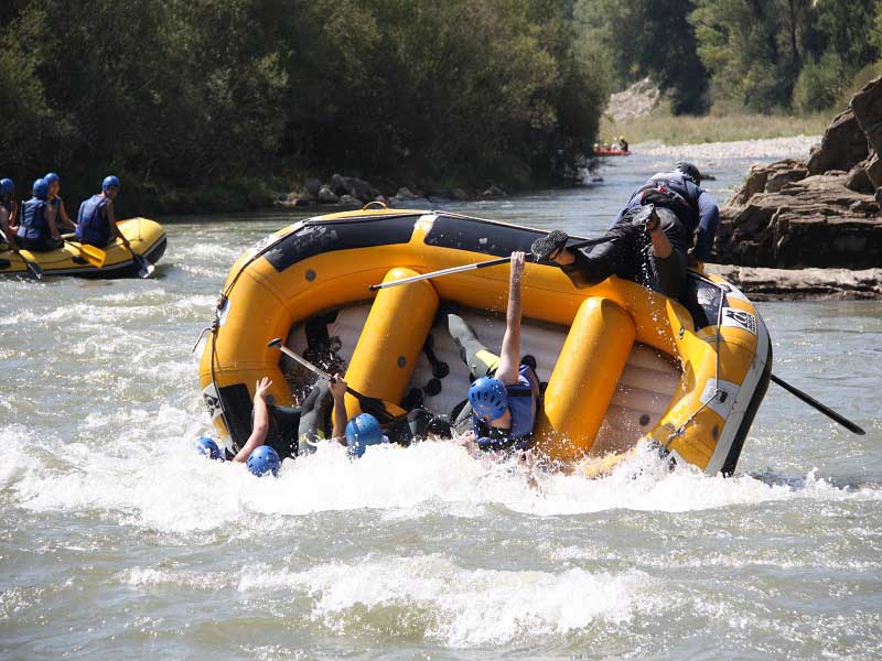 Rafting en Pirineos