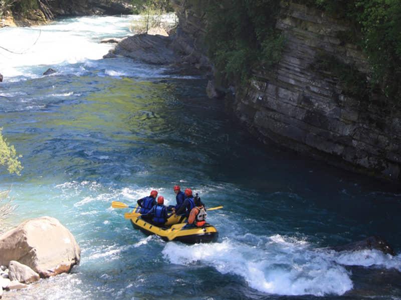 Rafting río Ara - Cañon Janovas