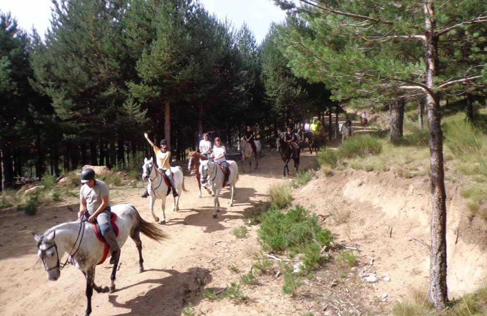 Ruta a caballo en Gredos