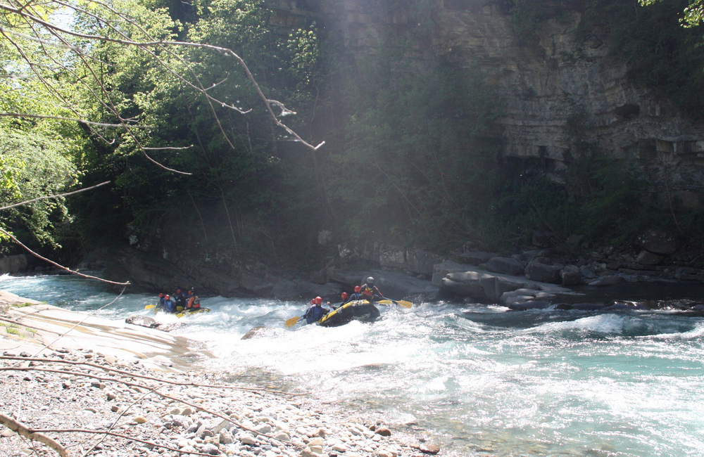 Rafting río Ara - Torla/Broto