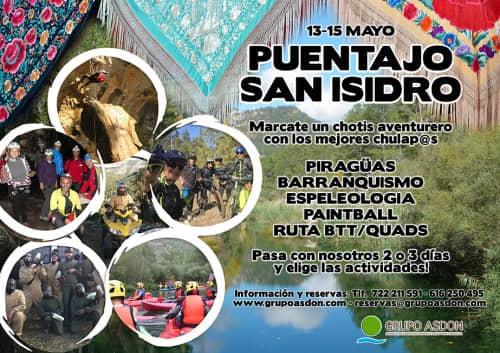 13 -15 Puente San Isidro - Piraguas, barranquismo y btt en el alto Tajo