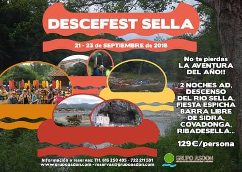 21 - 23 de septiembre - Fiesta Espicha en Cangas de Onis y descenso del río Sella.