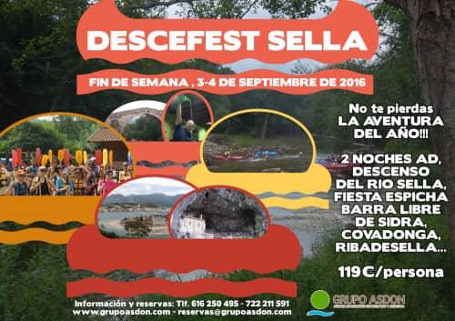 03 - 04 Septiembre - Fiesta en Cangas de Onis y descenso del rio Sella.