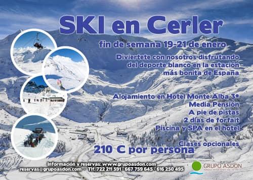 19-21 de Enero de 2018 - Fin de semana de esqui en Cerler.