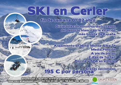 01-02 de Abril de 2017 - Fin de semana de esqui en Cerler.
