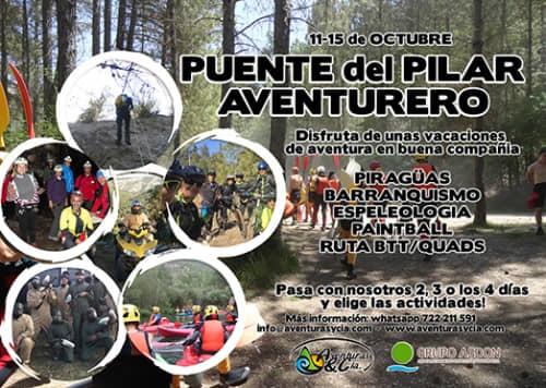 11 - 15 octubre - Puente del Pilar en el Alto Tajo.