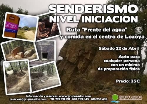 "22 de Abril 2017 - Ruta de trekking y comida ""Frente del agua""."