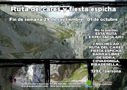 29 -01 Octubre - Ruta del cares y Fiesta espicha en Cangas.