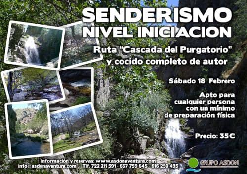 """18 de Febrero 2017 - Ruta de trekking y cocido """"Cascada del Purgatorio""""."""