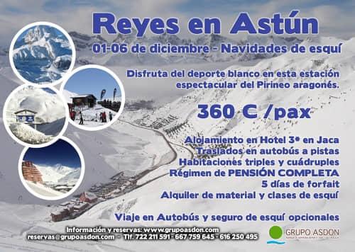 01-06 de Enero de 2019 - Reyes de esqui en Astún.