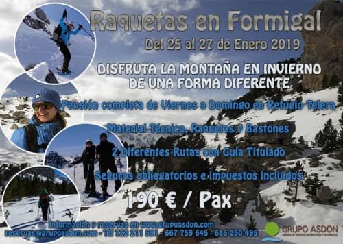 25-27 de Enero - Viaje de raquetas en el Valle de Tena