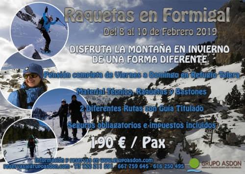 08-10 de Febrero - Viaje de raquetas en el Valle de Tena