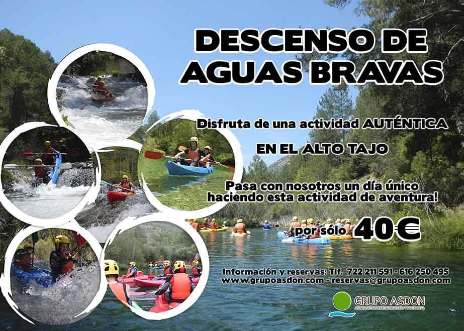 08  de junio 2019 - Aguas bravas en el Alto Tajo.