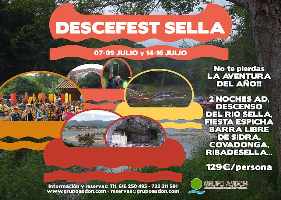 15 -16 Julio - Fiesta en Cangas de Onis y descenso del rio Sella.