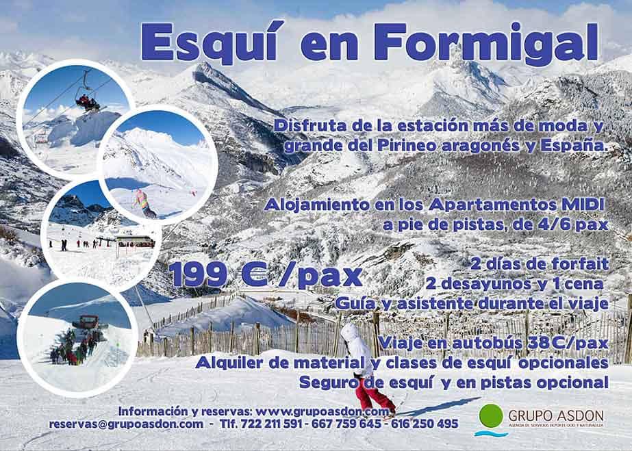 21-23 de febrero - Fin de semana de esqui en Formigal.