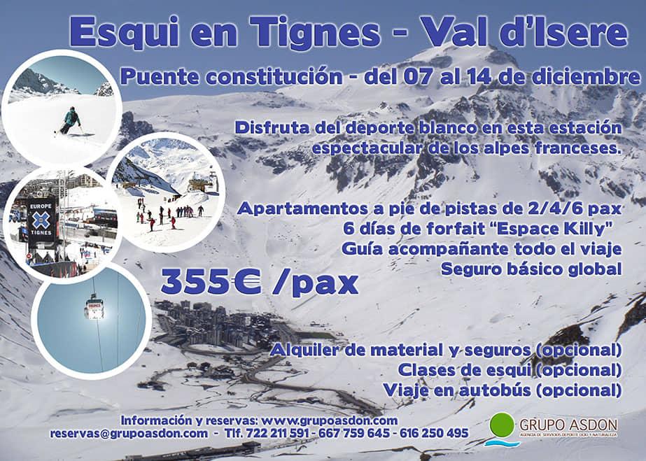07-14 de diciembre de 2019 - Puente de diciembre esquiando en Tignes.