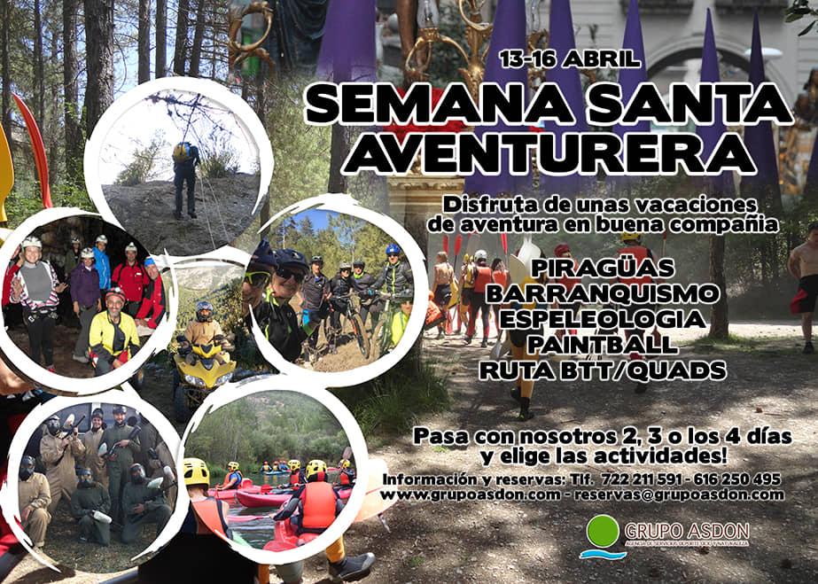 13 -16 Semana Santa - Aguas bravas y mutiaventura en el alto Tajo.