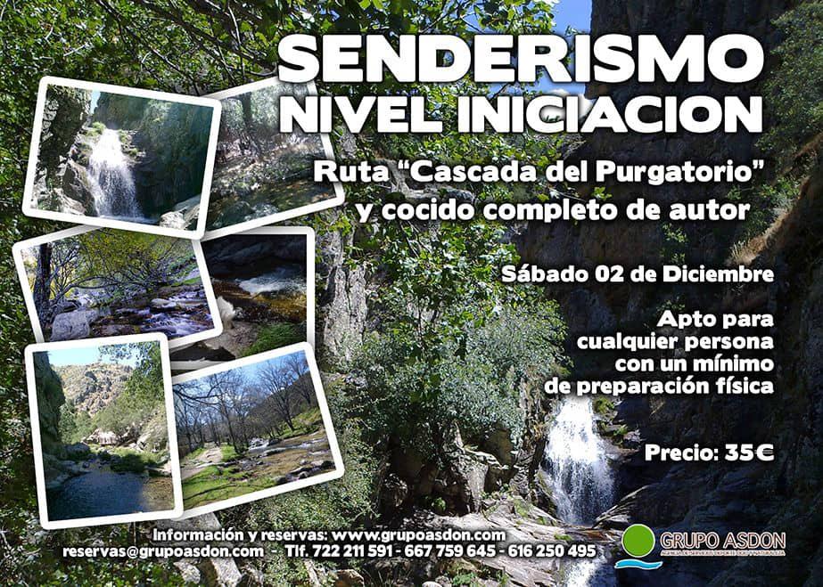 """02 de Diciembre 2017 - Ruta de trekking y cocido """"Cascada del Purgatorio""""."""