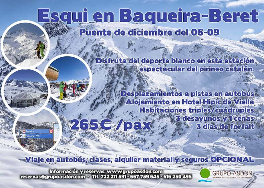 06-09 de diciembre - Puente de diciembre esquiando en Baqueira Beret.