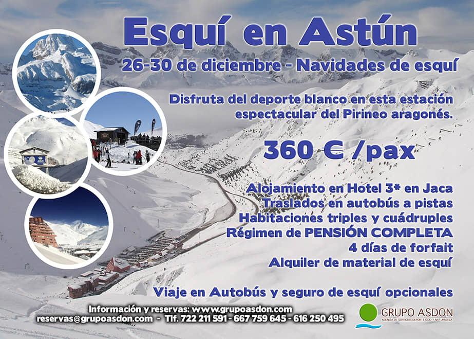26-30 de Diciembre de 2018 - Navidades de esqui en Astún