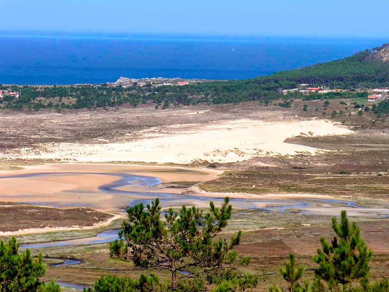 Parque Natural dunas de Corrubedo y lagunas de Carregal y Vixán