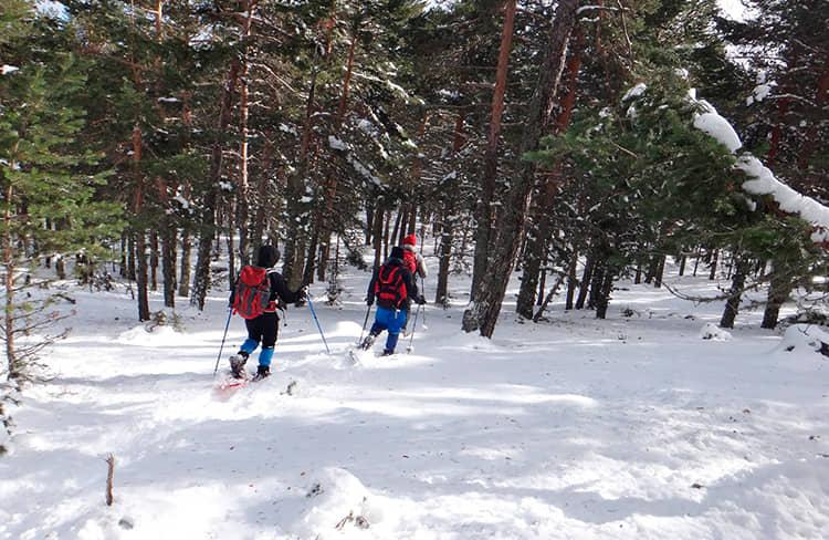 raquetas-nieve-albarracin-teruel-grupoasdon