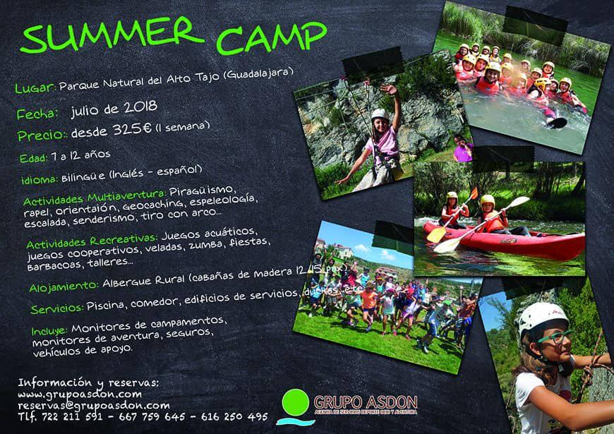CAMPAMENTO NATURALEZA - SUMMER CAMP (Guadalajara)