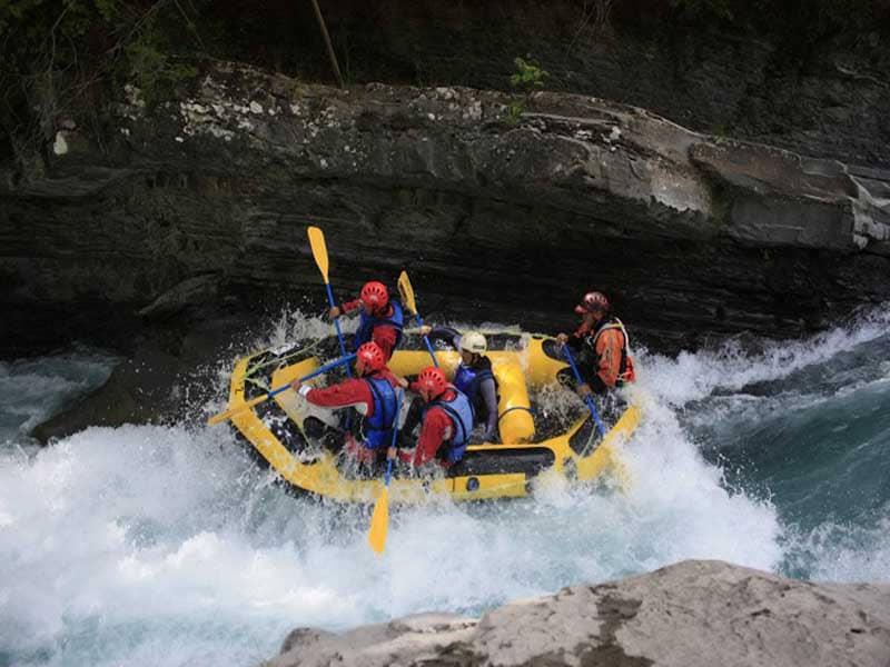 Rafting con adrenalina