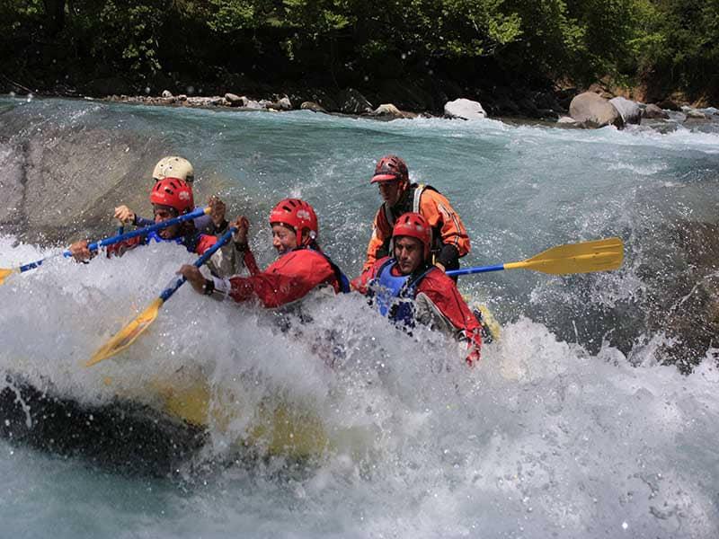 Rafting Pirineos