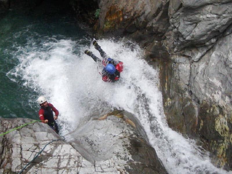 Barranco Tobogan con Asdon Pirineos