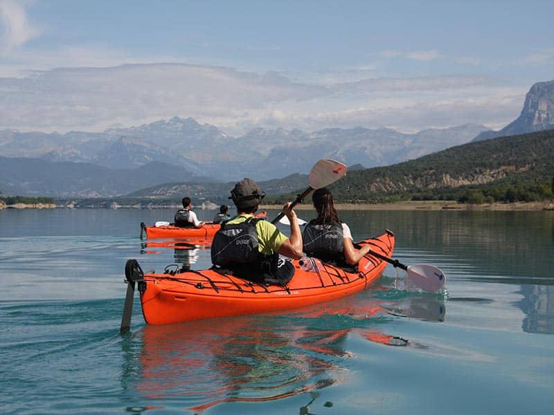 Travesia en Kayak en lagos